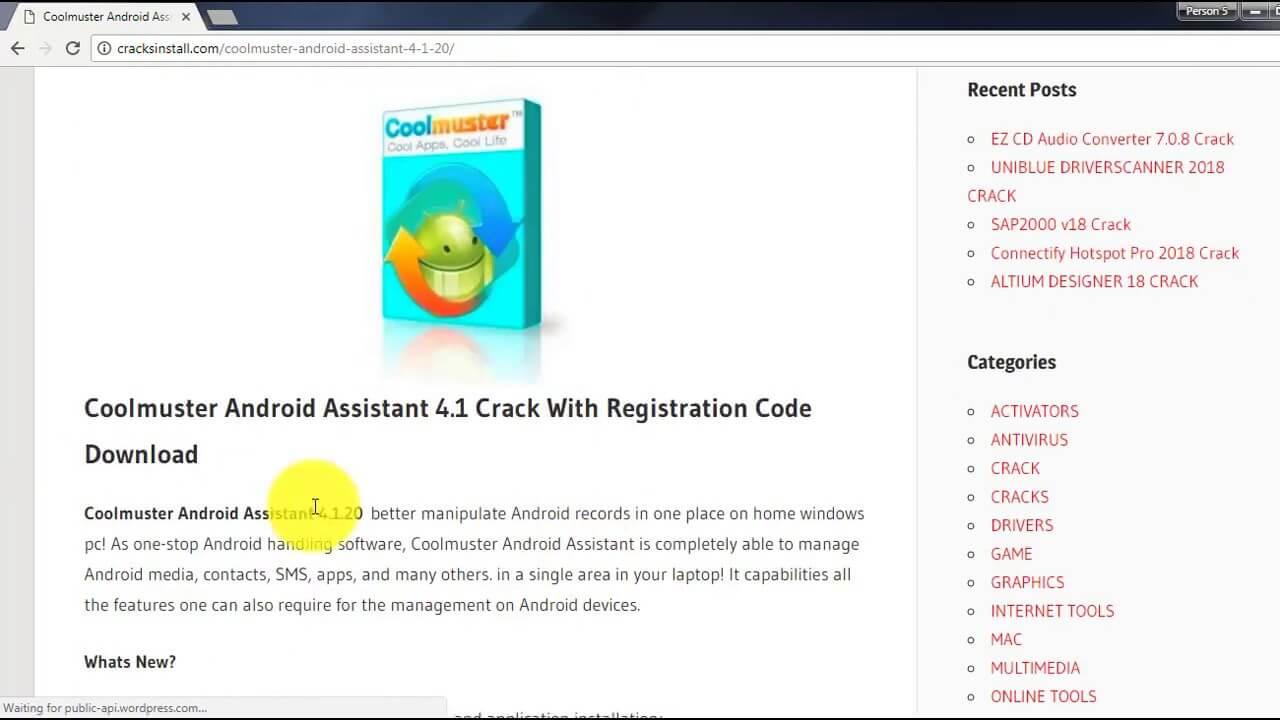 Coolmuster Registration code