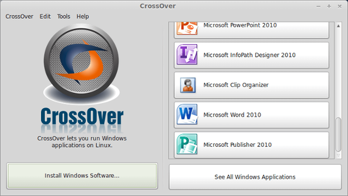 crossover linux patch